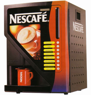 M quina de caf lioness nescaf m quinas expendedoras for Maquinas expendedoras de cafe para oficinas