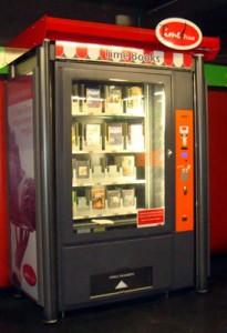 Máquina expendedora de libros en Milán
