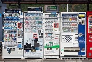La cultura de las máquinas vending en Japón