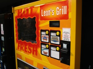 leon's grill hot dog vending machine