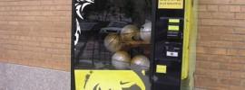 maquina expendedora de balones