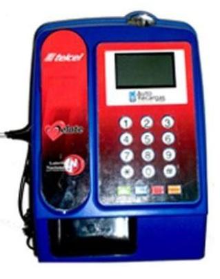 Máquina Vending para hacer Recargas de celular