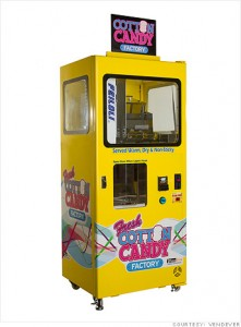 maquina expendedora de algodón de azucar